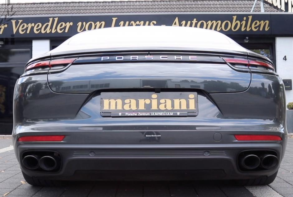 Porsche Klappenauspuff Tuning
