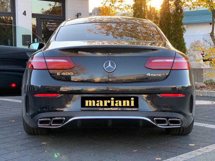 Mercedes E-Klasse Sportauspuff