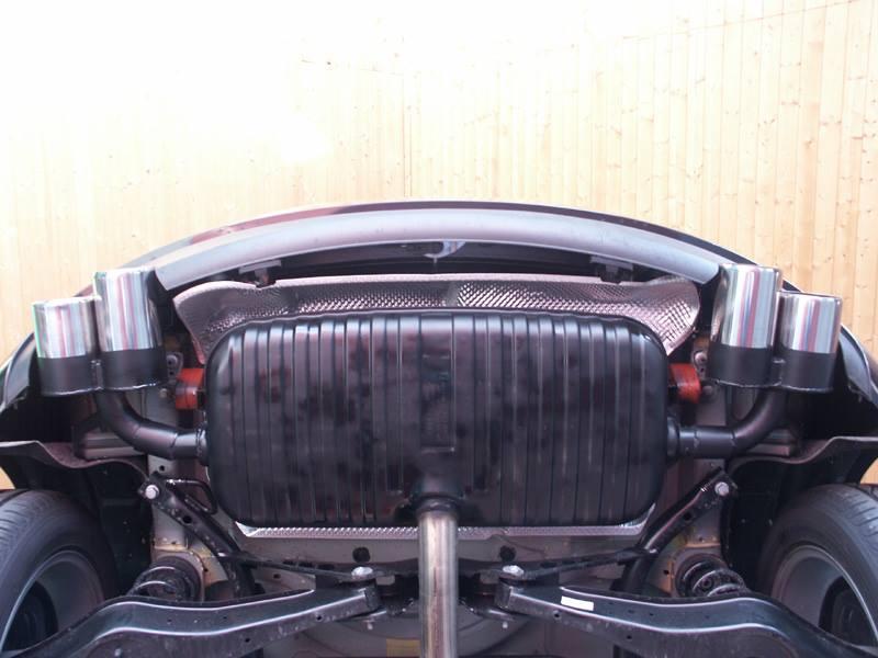 Audi 4 Rohr Sportauspuff
