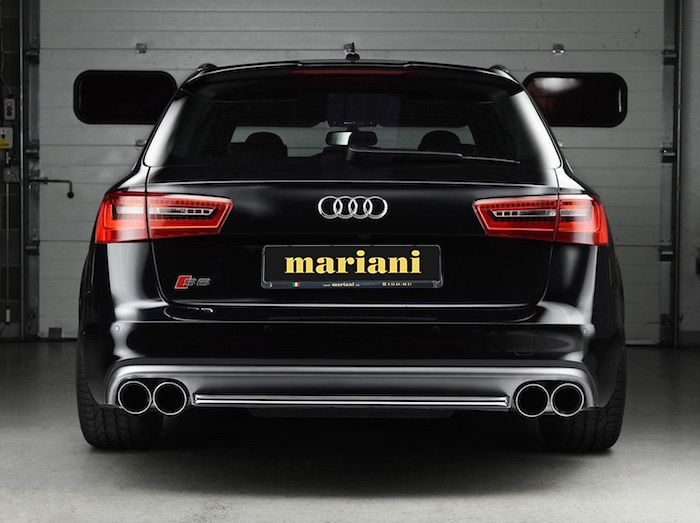 Klappenauspuff für Audi S6 A6 Rs6 Tuning
