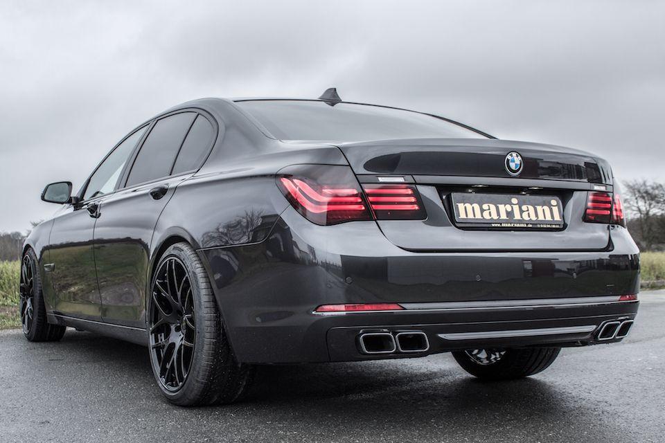 BMW V12 Heckoptik Endrohre + Diffusor