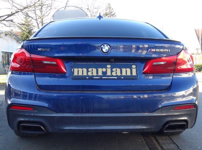 BMW 5er m550i G30 Klappenauspuff