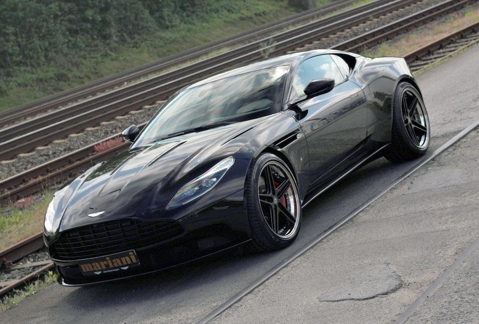Aston Martin Tuning mit Felgen, Fahrwerk und Auspuff
