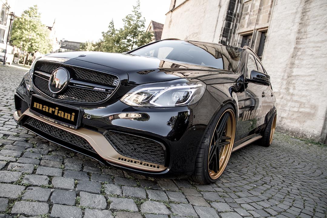 Mercedes E63 AMG Bleck-Series