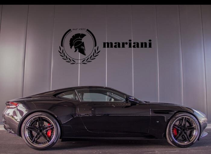 Aston Martin Felgen + Fahrwerk + Auspuff Tuning